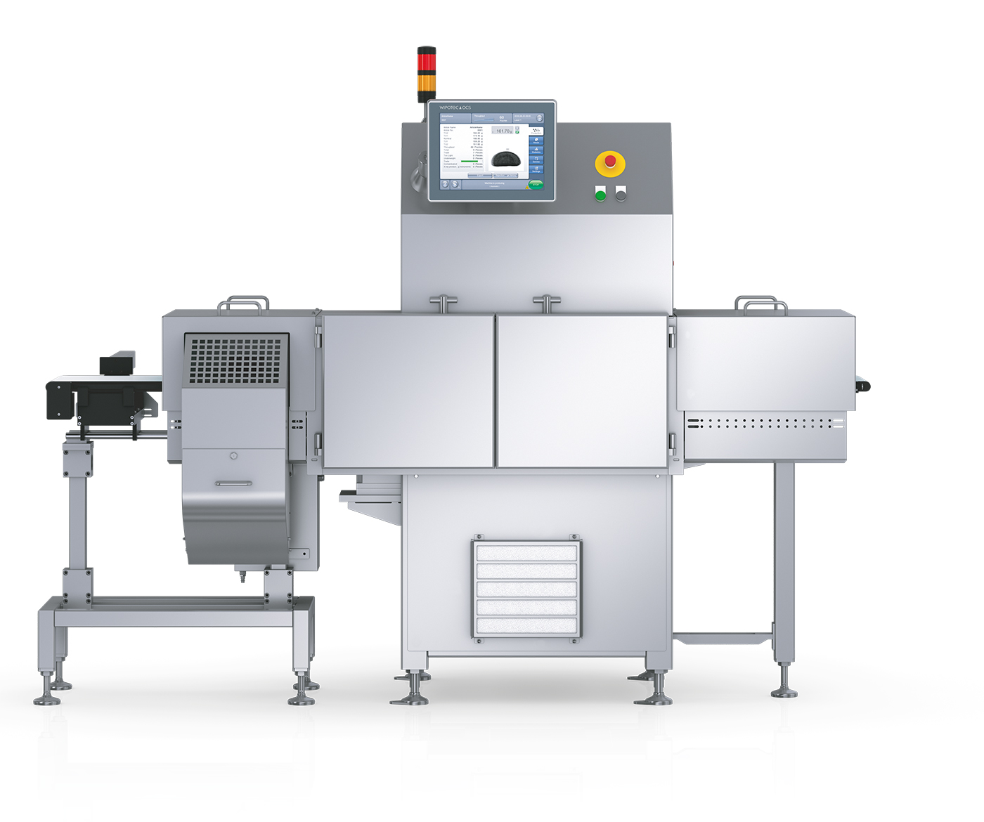 W Series x-ray and checkweigher inspection machine